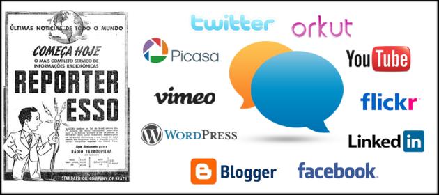 Imprensa vs medias sociais