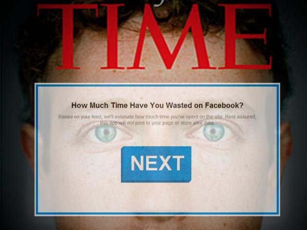 Quanto tempo você já gastou no Facebook?
