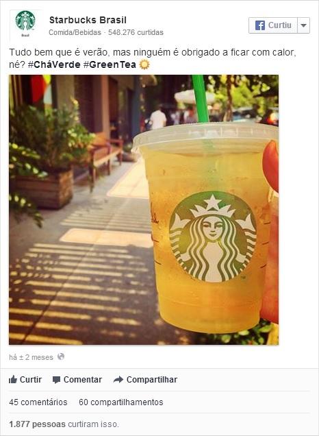 Starbucks Brasil_ post