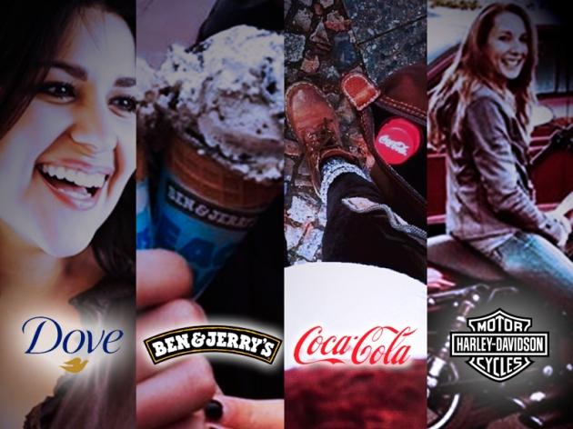 Facebook Brands_ Dove-Ben&Jerrys-Coca Cola-Harley Davidson
