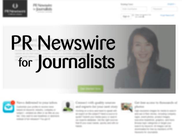 PRNJ PR Newswire para Jornalistas