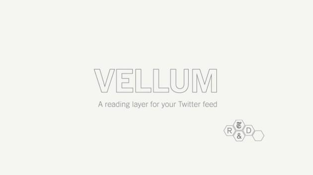 Vellum – Ferramenta do NYT para Descoberta de Conteúdo