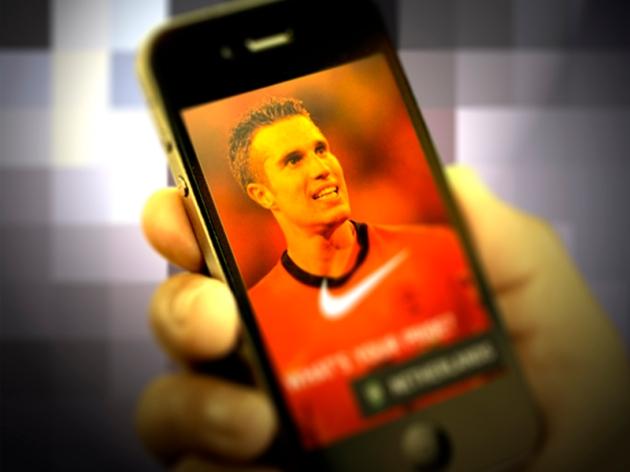 Brazil World Cup_Advertising Mobile_Van Persie
