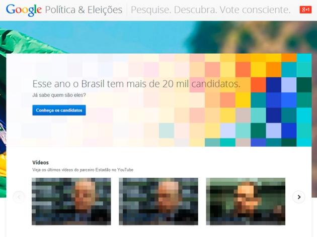 Google Eleições: Um pouco de Marketing, Política e Jornalismo Digital