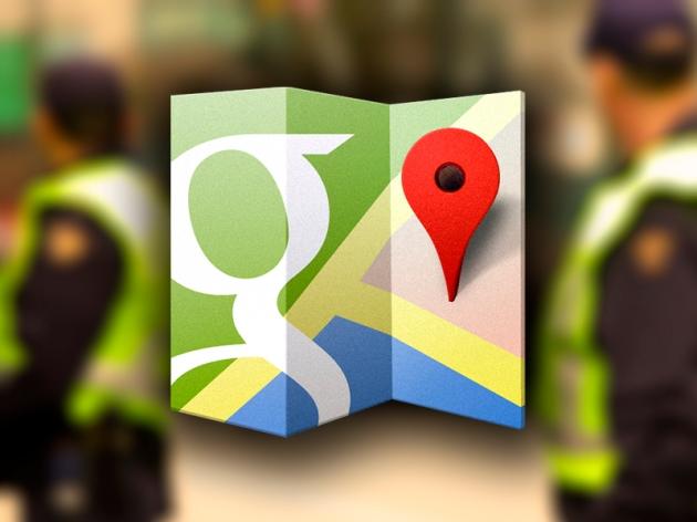 Google Maps_Segurança Pública