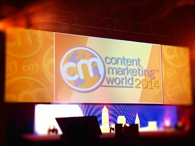 Content Marketing World Day 1