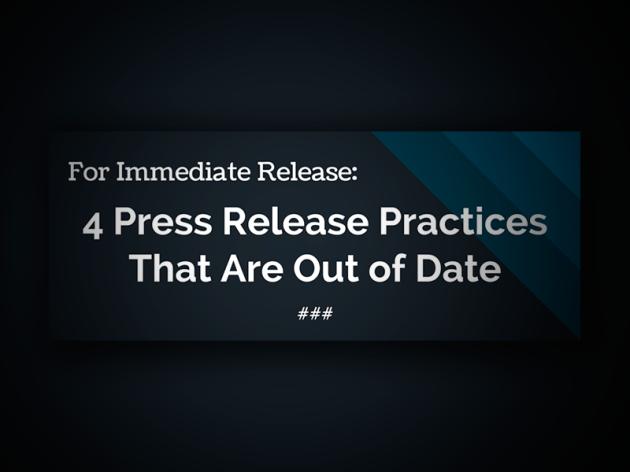Dicas para Escrever Press Release (No Passado e Hoje)