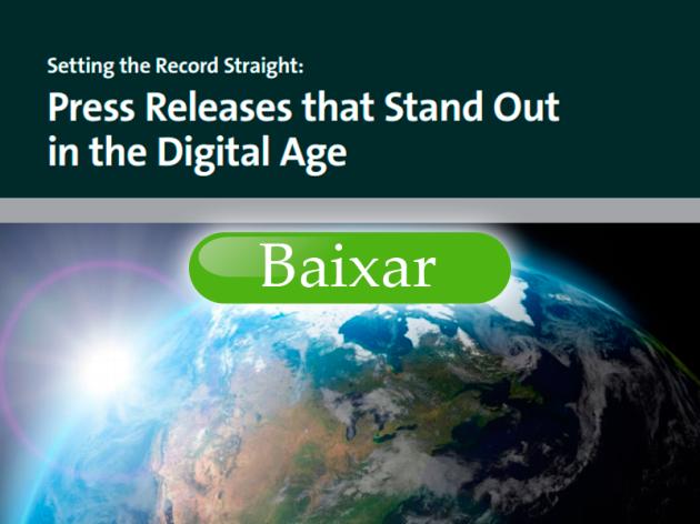 O Segredo do Press Release que se Destaca na Era Digital
