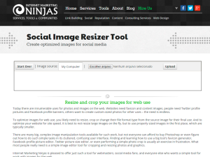 Social-Image-Resizer-Tool