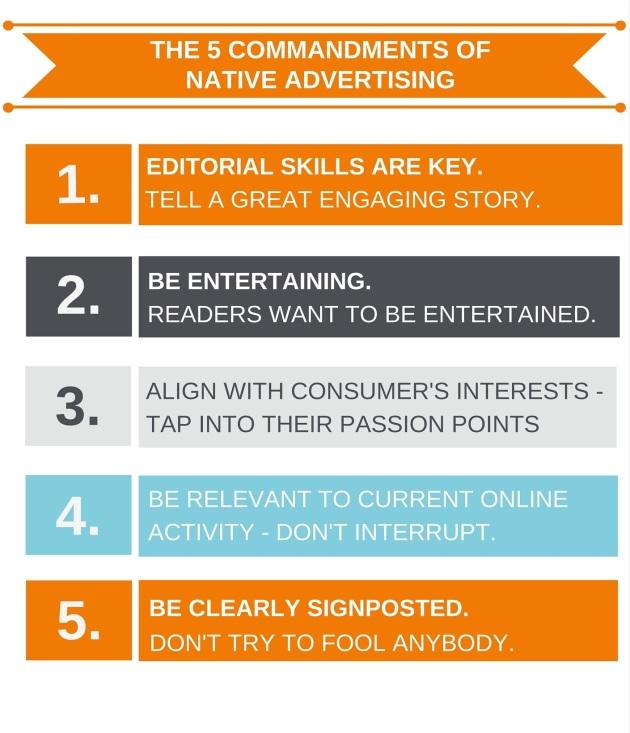 Dicas de Como Usar o Native Advertising