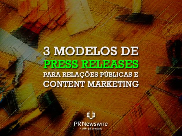Modelo de Press Release