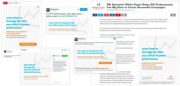 PR Newswire Template
