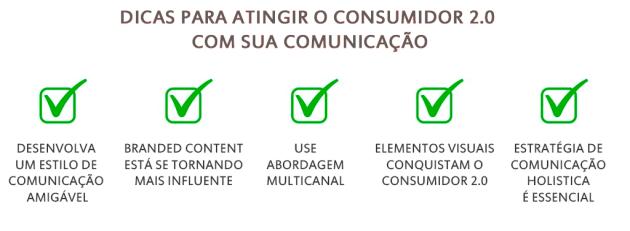 Dicas para Atingir o Consumidor 2.0 com sua Comunicação